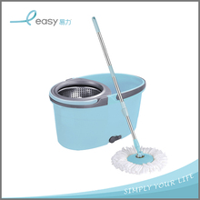 2018 Professional standard clever big 360 easy spin mop and bucket with cleaning mop