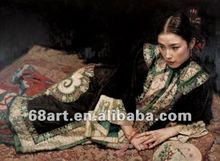 reproduce oil painting of Chen Yifei