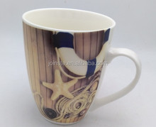 Customized unique ceramic mug model 400ml