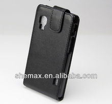 Vertical Case for LG Optimus L5 II E455- High Quality Flip Phone Cover For LG E455, case for lg optimus l5 ii e450/e460