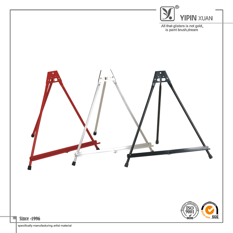 Hot Selling Painting Studio Use Small Tabletop Metal Easel