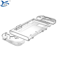 buckles design Transparent crystal protective cover plastic material case for Nintendo Switch