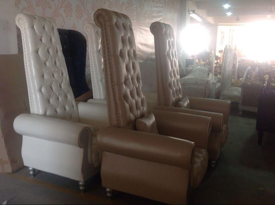 Luxury Nail Salon Spa Chairs Pedicure Chair Wedding Chair