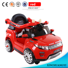 2017 factory wholesale baby battery charged car with push handle