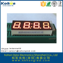 Easy to assemble seven segment LED car rear window digital display in shenzhen