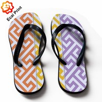 retail dropship custom rubber flip flops with designs
