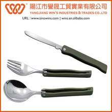 A21- 9003 Utility Cutlery Set 3 Piece Knife Fork Spoon Set Travel Camping Cutlery Set