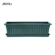 plastic flower pot liners rectangle garden planter gardening pot for bonsai