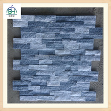 Fashion design blue and white color slate natural split Culture stone for wall caldding