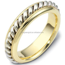 high polished yellow gold tat ring, 2012 fashion tat rings