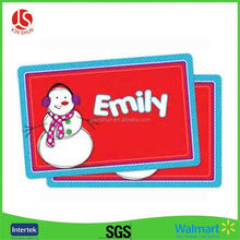 Fancy Wholesale commercial plastic placemats