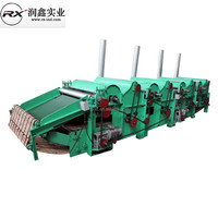 cotton fiber waste cleaning machine for filling