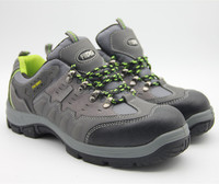 Rubber outsole safety shoes for men and women