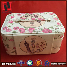 cosmetic makeup suitcases , empty makeup case box pu leather