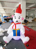 Interesting Christmas yard decoration snowman model inflatable