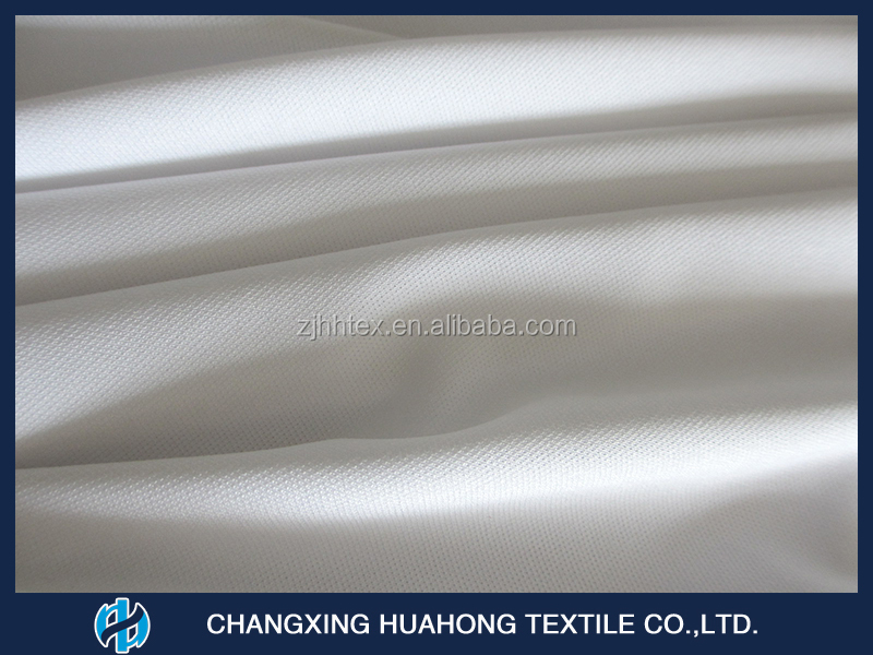 uv protection knitted pique mesh fabric for sports wear from china textile
