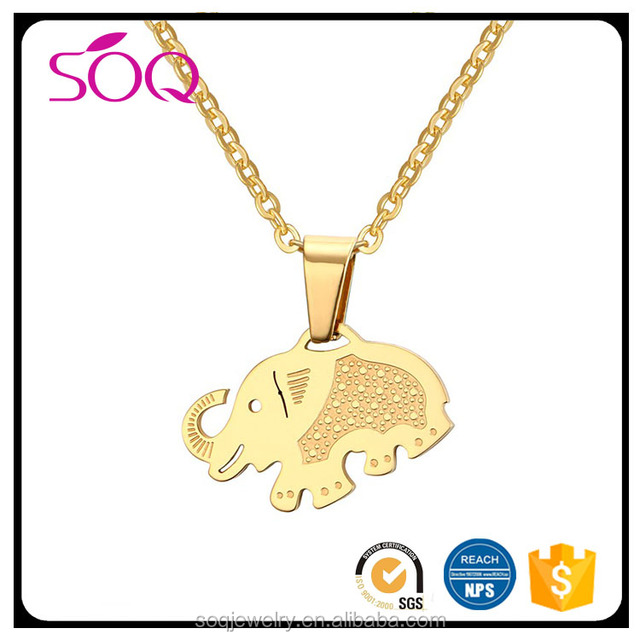high quality India women jewelry bridal gold jewellery designs indian elephant necklace