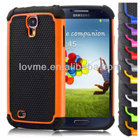 Shock Proof Defender Case for Samsung Galaxy S4 i9500 Dual Layer Silicone Cover