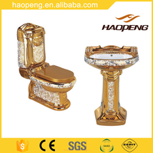 Royal Design European Standard Gold Color Toilet Sanitary Ware