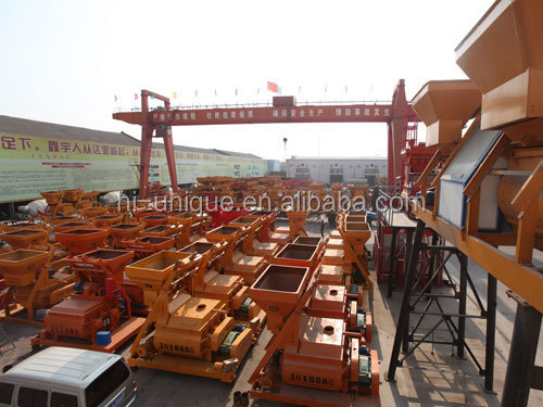 Zhengzhou Unique YHZS60 Mobile Concrete Mixing Plant For Sale