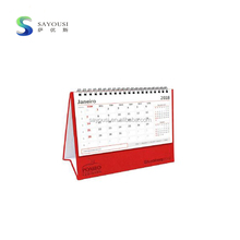 2018 chinese yearly paper table calendar / chinese calendar 2018