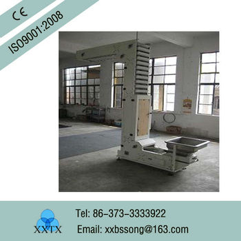 Z-size Steel Elevator for Sugar Packing Supplier/Hoisting machine
