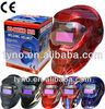 Hot sale high quality CE and ANSI approved blue spider carton solar auto darkening welding helmet weldng mask en 397(TN09E)