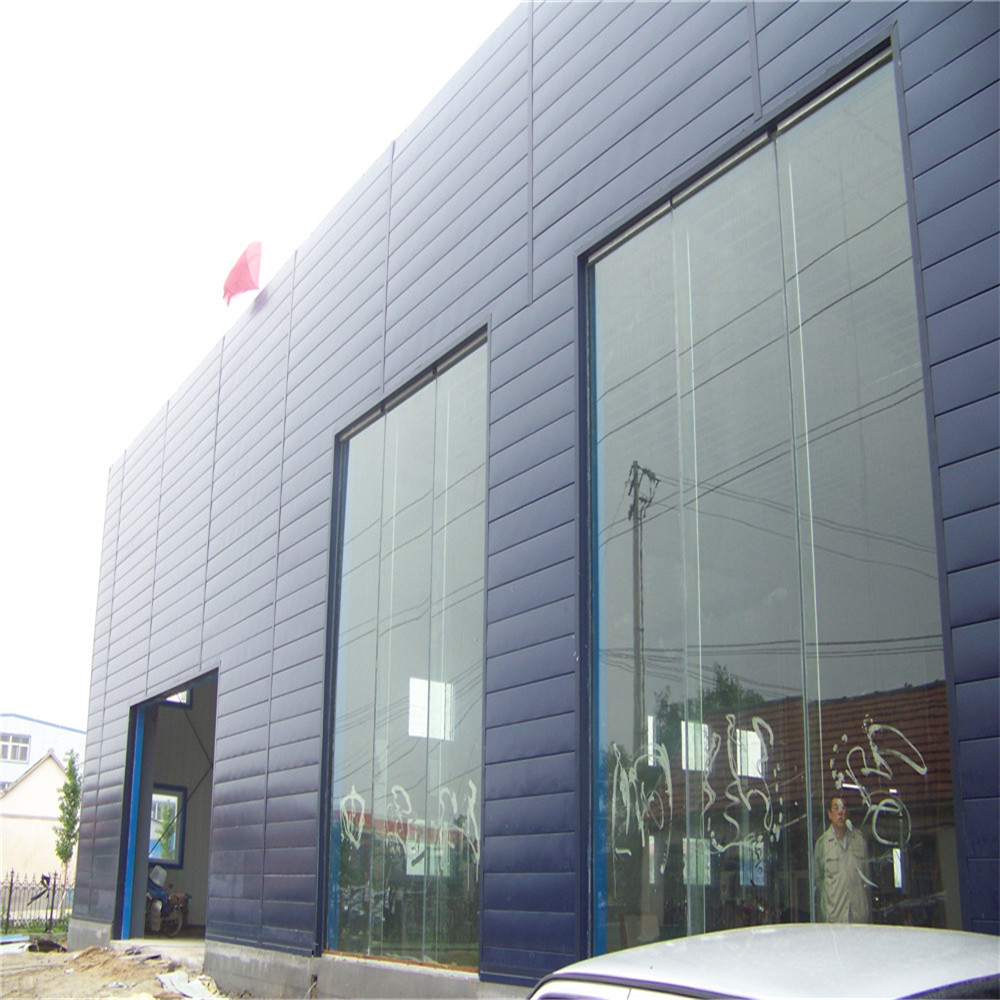 chinese prefab steel structure car showroom