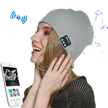 High Quality Wireless Music Winter Beanie Hat Bluetooth Beanie Hat with Headphone