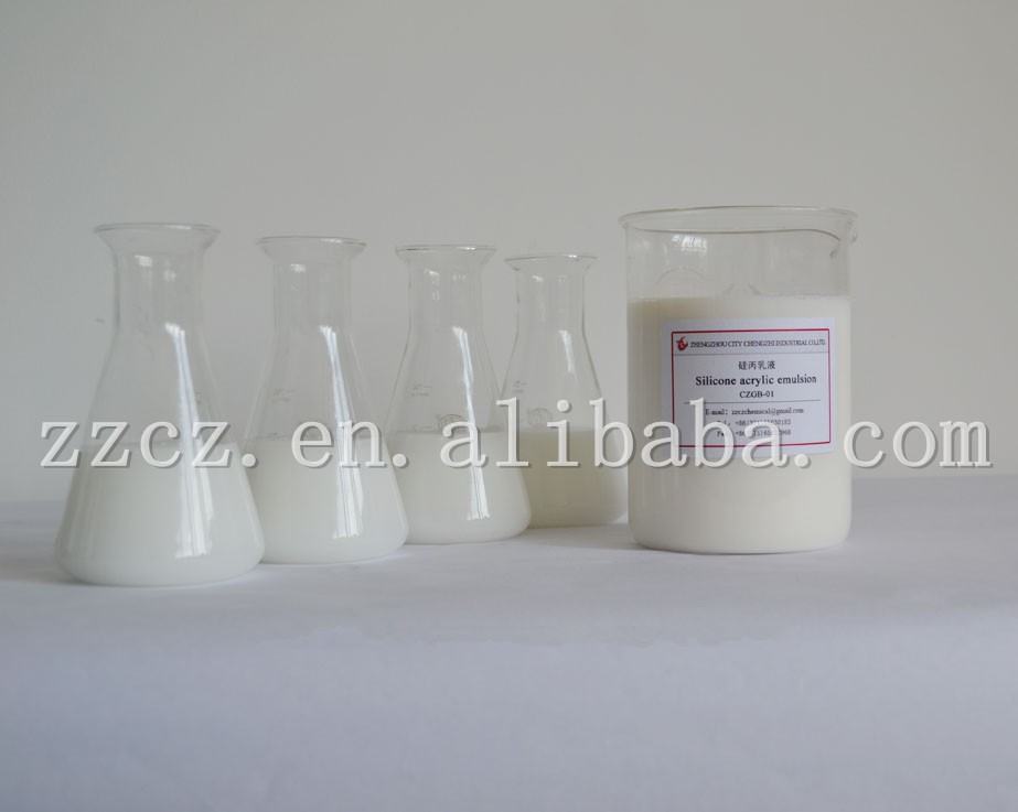 anionic emulsion Silicone acrylic emulsion to improve the coating of water resistance