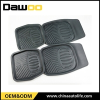 Dust proof easy to clean car trunk mats