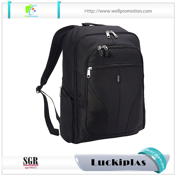 17 inch ballistic nylon laptop backpack bags with secret pockets