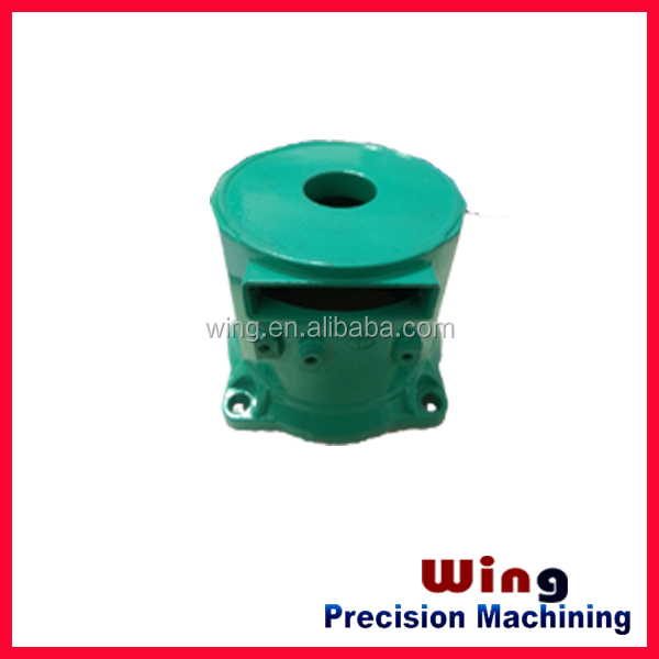 OEM industrial aluminum bronze casting and brass die casting parts