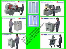 pvc door and windows machine