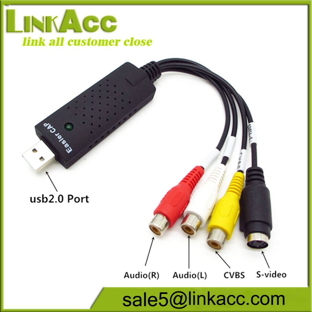 Composite Video Capture Card Wholesale Suppliers Easycap Channel 1 Usb 20 Utv007 Support Android Easy Cap Alibaba