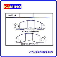WHOLESALES DISC BRAKE PADS HEAVY DUTY TRUCK AND TRAILER BRAKE PADS FOR CATER- PILLAR EIMCO 100034 WEVER/KAMINO ASBESTOS FREE