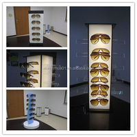 acrylic cosmetic display rack for lipstick
