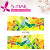 2016 Custom nail art accessory/ holiday nail art sticker/water decals nail art stickers