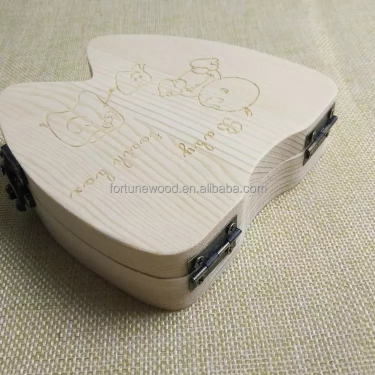 Baby first tooth box with different design