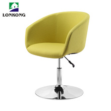 2017 new design modern round hotel lounge chair