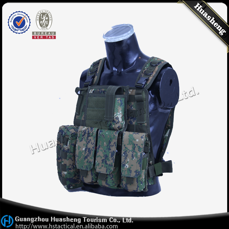 Paintball Airsoft Molle Design Camouflage Tactical Vest