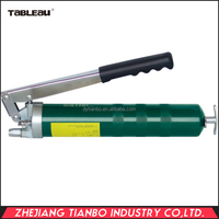 green hand operated economical grease gun
