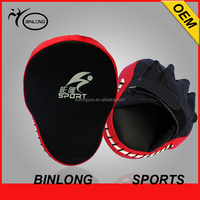 BINLONG PU LEATHER PUNCHING KICKING PALM PAD TARGET MITT GLOVE FOR FOCUS TRAINING OF KARATE MUAYTHAI KICK BOXING UFC MMA
