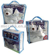 HOT SALE PVC Packaging Bag WITH TWO BUTTONS