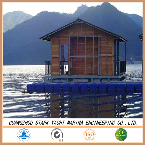 Pontoon cube for floating dock PE plastic bear the house and bridge high quantiy for cheap sale
