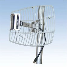 1710-1880MHz 17dBi GSM Square Grid Parabolic Antenna for Repeater System