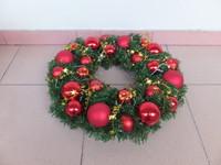 Excellent quality decorative artificial christmas wreath