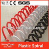 plastic single loop spiral wire,plastic spiral coil wire ring,PVC plastic spiral coil wire