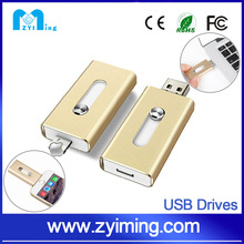 Zyiming for apple iphone 6 usb flash drive otg ,mobile phone usb flash drive