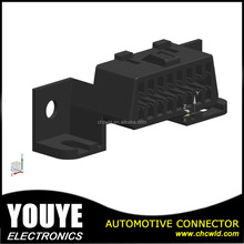 16 Pin 060 1.5mm black PA66 female auto automotive connector